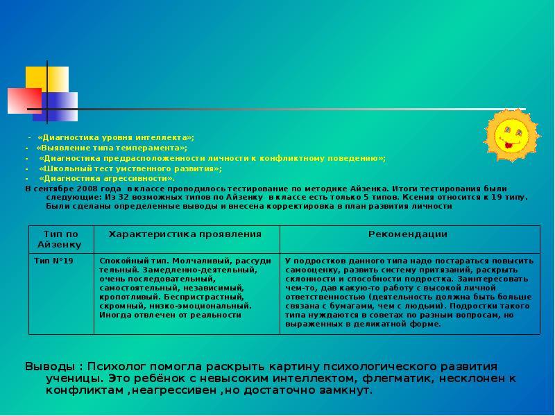 Резапкина галина | комплексная диагностика общих способностей подростков в условиях профильного обучения | журнал «школьный психолог» № 12/2008