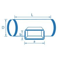 Расчёт площади воздуховодов и фасонных изделий