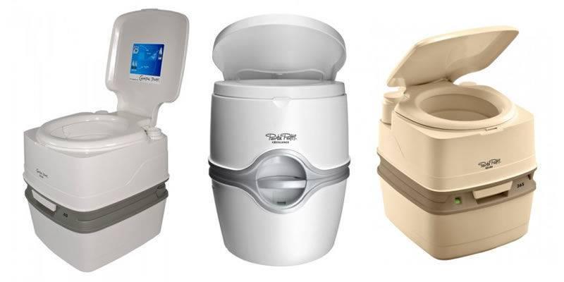 Принцип работы биотуалета и виды сантехнических приборов