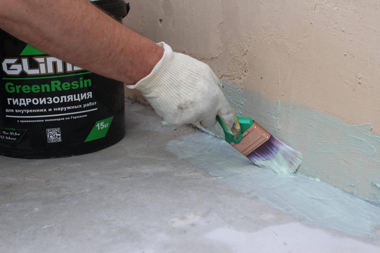 Гидроизоляция пола в ванной под плитку - способы и пошаговые инструкции!