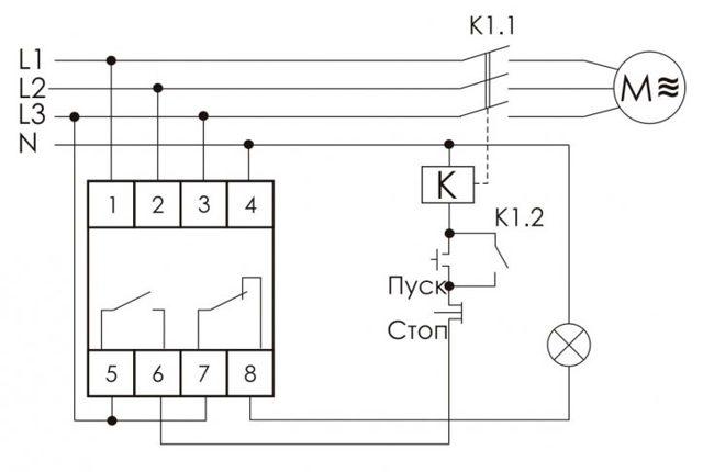 Принцип работы и схема подключения реле времени - точка j