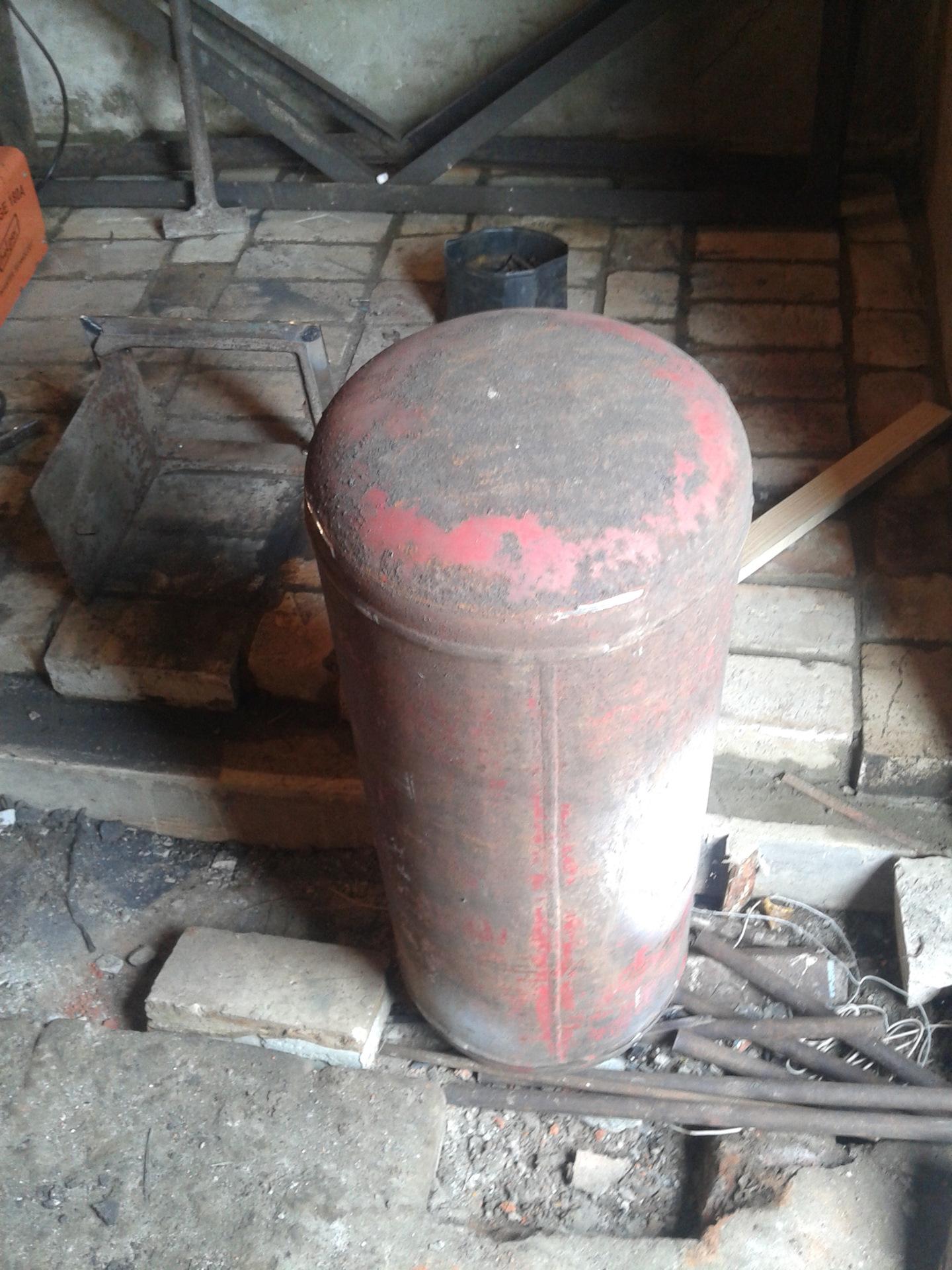 Печь для гаража из газового баллона: изготовление печки для отопления из двух баллонов, как правильно сделать своими руками