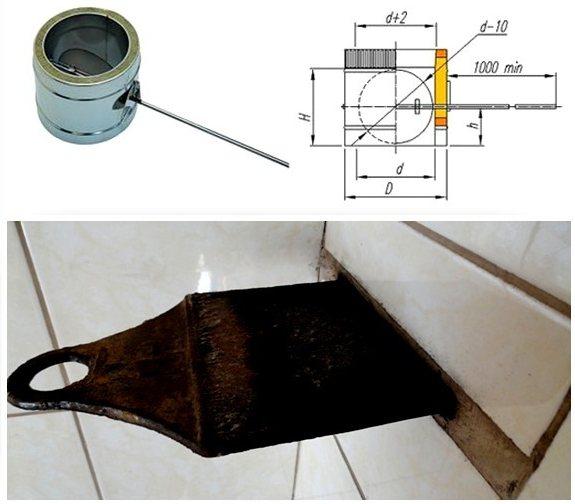 Что такое шибер или заслонка для дымохода, и зачем она нужна? | строительство и ремонт