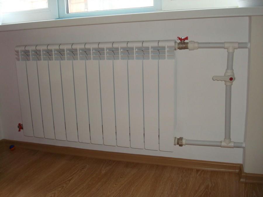 Установка батарей отопления в квартире: нормы, схема, как правильно подключить радиатор