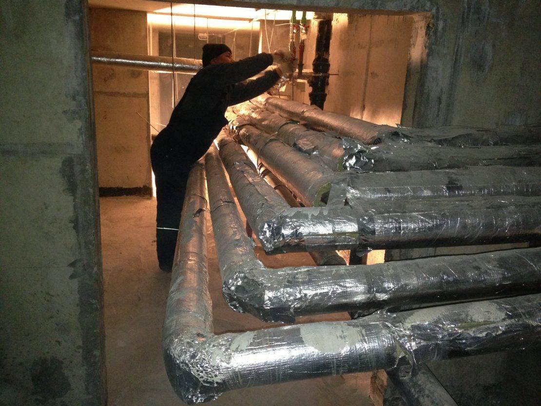Теплоизоляция труб отопления – сохраняем тепло внутри труб!