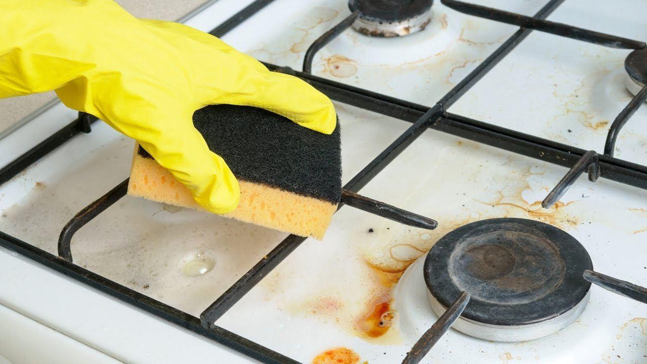 Как почистить газовую плиту в домашних условиях быстро и эффективно