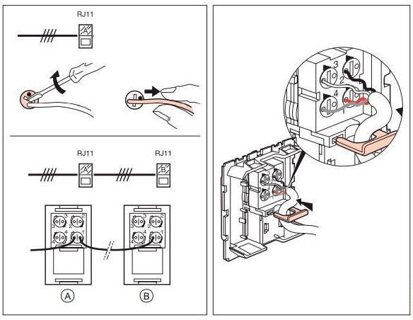 Как подключить телефонную розетку: схема подключения и правила установки