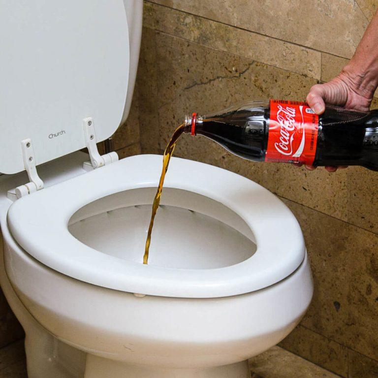 Как почистить кока колой унитаз — priborka