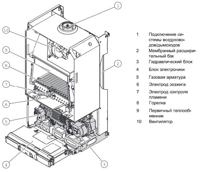 Установка газового котла Protherm: особенности и основные этапы монтажа + схемы подключения
