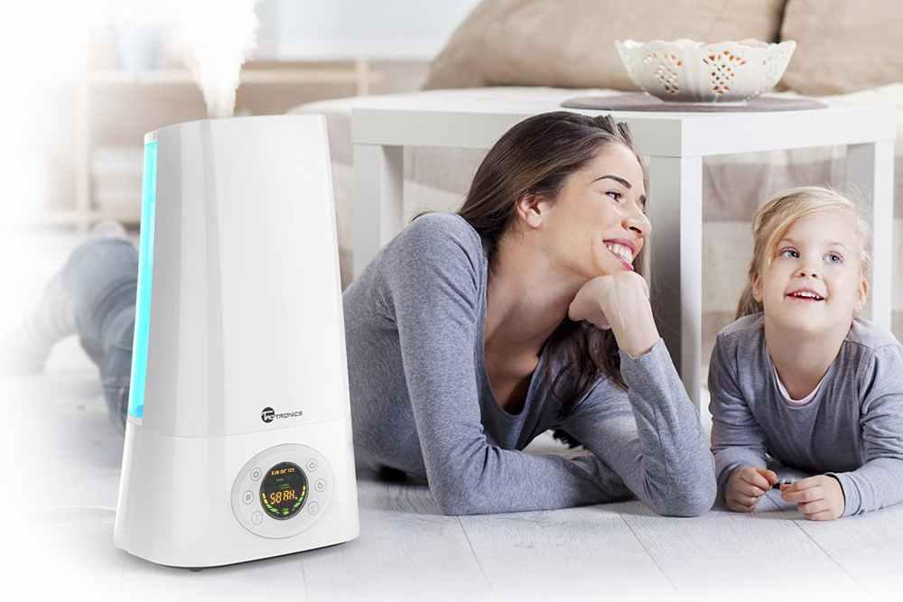 Выбираем увлажнитель воздуха для детей