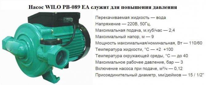 Почему насос Wilo PW-175E отключается