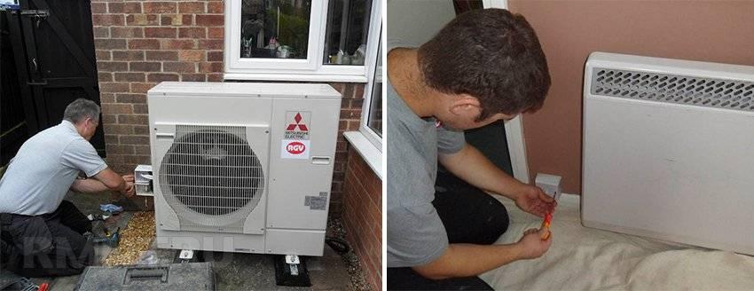 Воздушное отопление частного дома / коттеджа