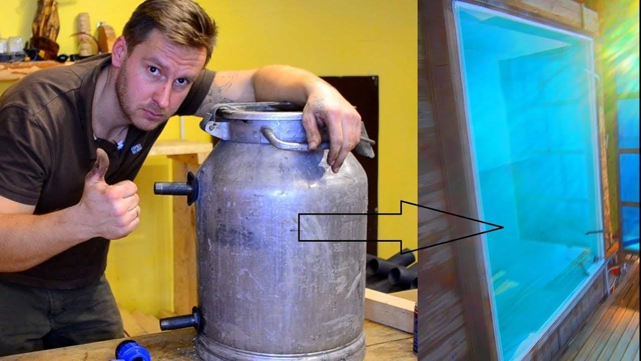 конструируем фильтр и насос для бассейна своими руками