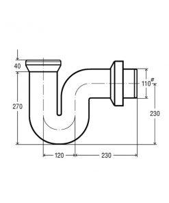 Гидрозатвор: что это такое, сухой гидравлический затвор для канализации и канализационный трап