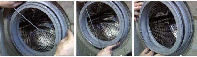 Замена манжеты люка стиральной машины (резинки) – ремонт своими руками