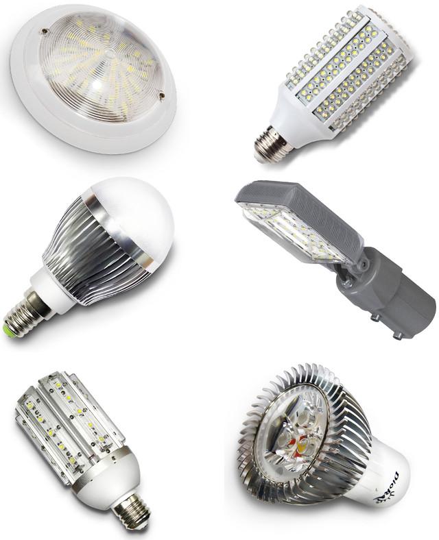 Всё о светодиодных лампах