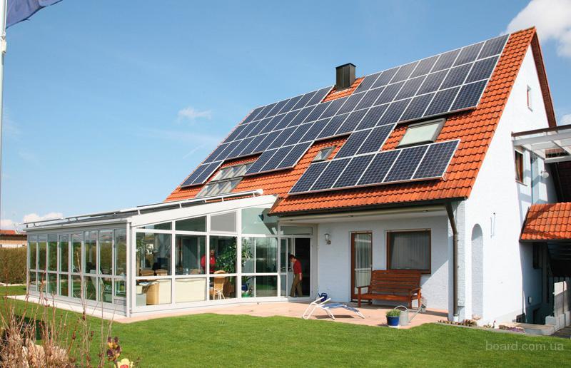 Солнечные батареи для частного дома – кровля крыши для дома