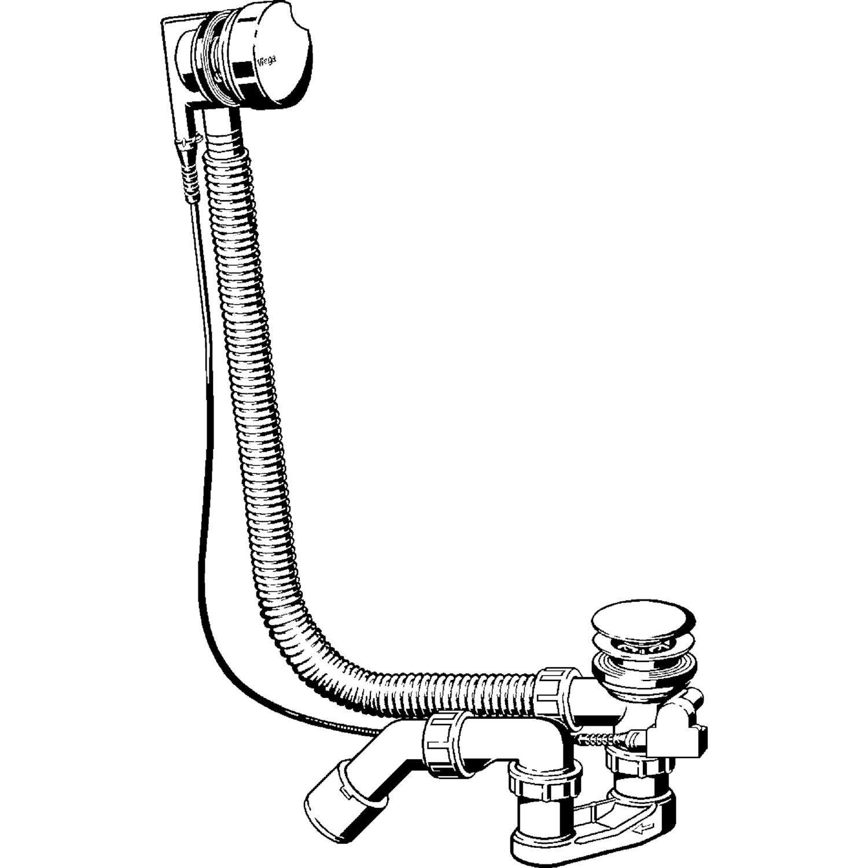 Как выбрать и установить слив перелив для ванны