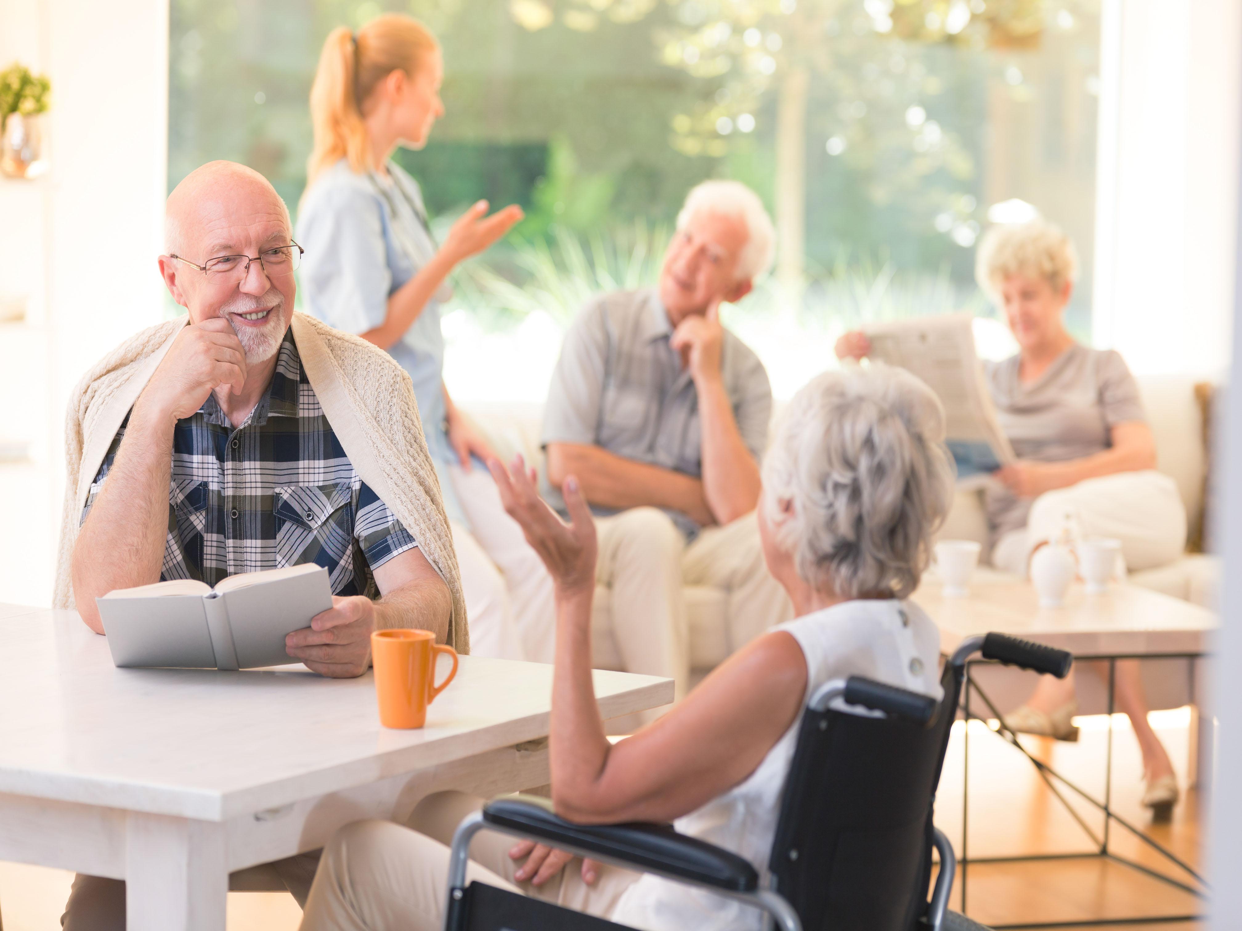 Социальный дом для одиноких пенсионеров – это не дом престарелых!