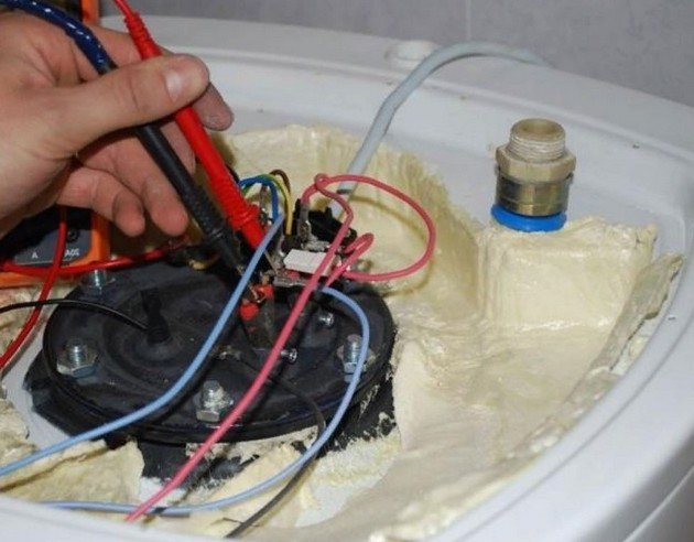 Устранение поломок водонагревателя своими руками
