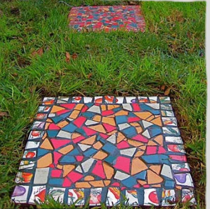 Процесс изготовления тротуарной плитки в домашних условиях