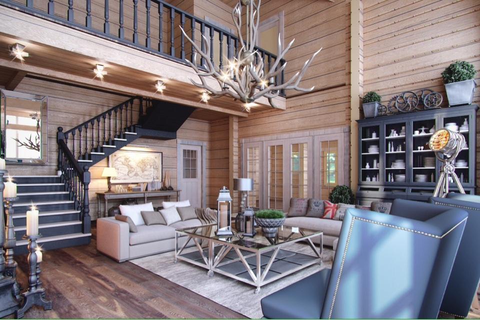 Дизайн второго этажа частного дома - лучшие решения для интерьера на фото от salon