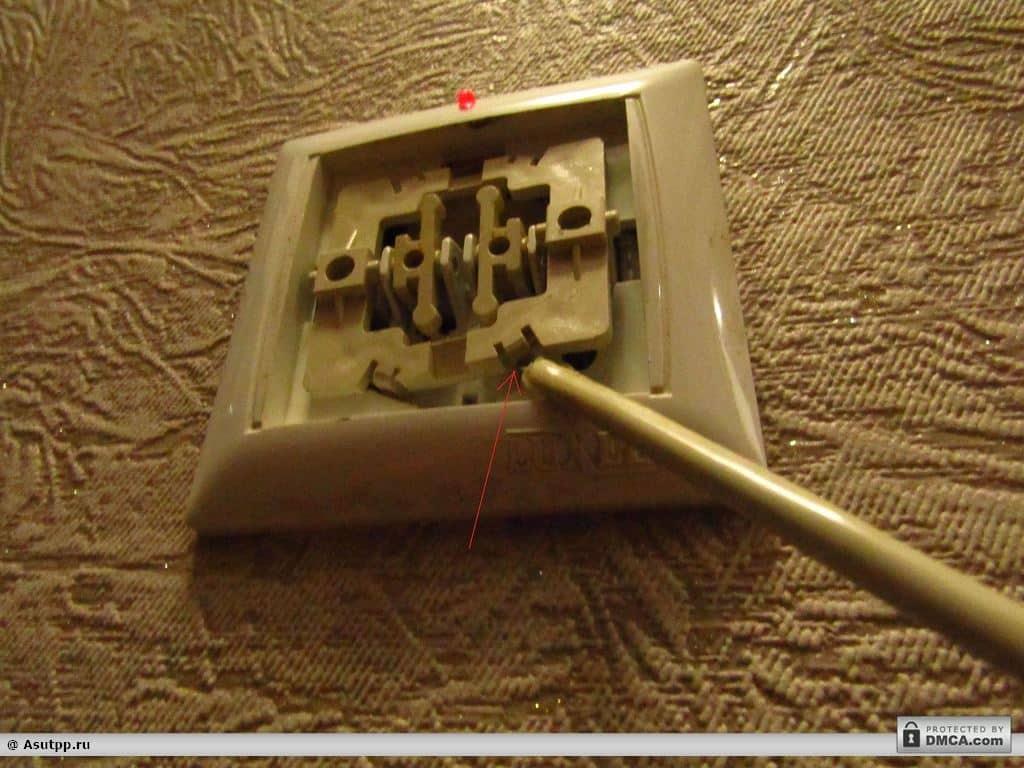 Как разобрать выключатель света - electrik-ufa.ru