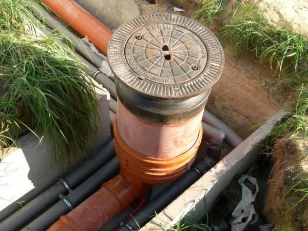 Виды колодцев для дренажной системы — назначение и особенности конструкций из различных материалов