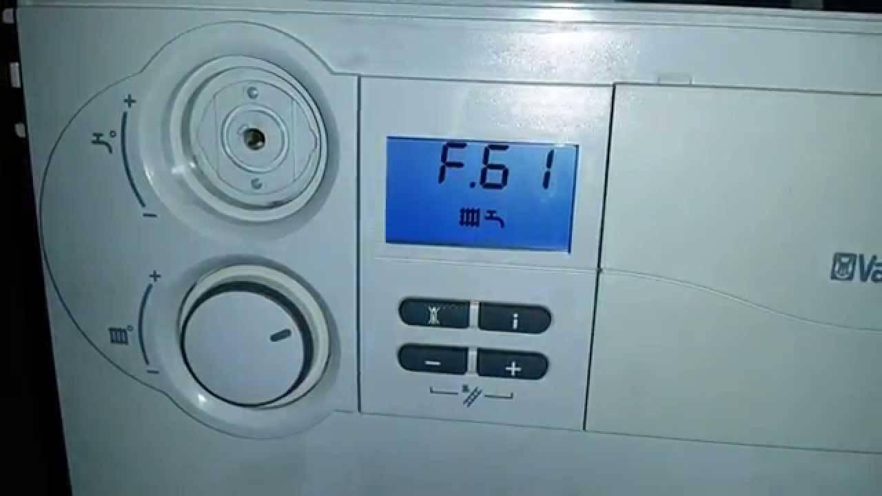 Как устранить ошибку f28 на газовом котле vaillant