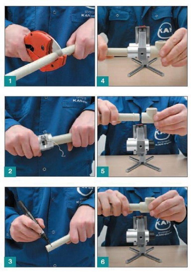 Как паять полипропиленовые трубы правильно – пошаговая инструкция с видео уроками