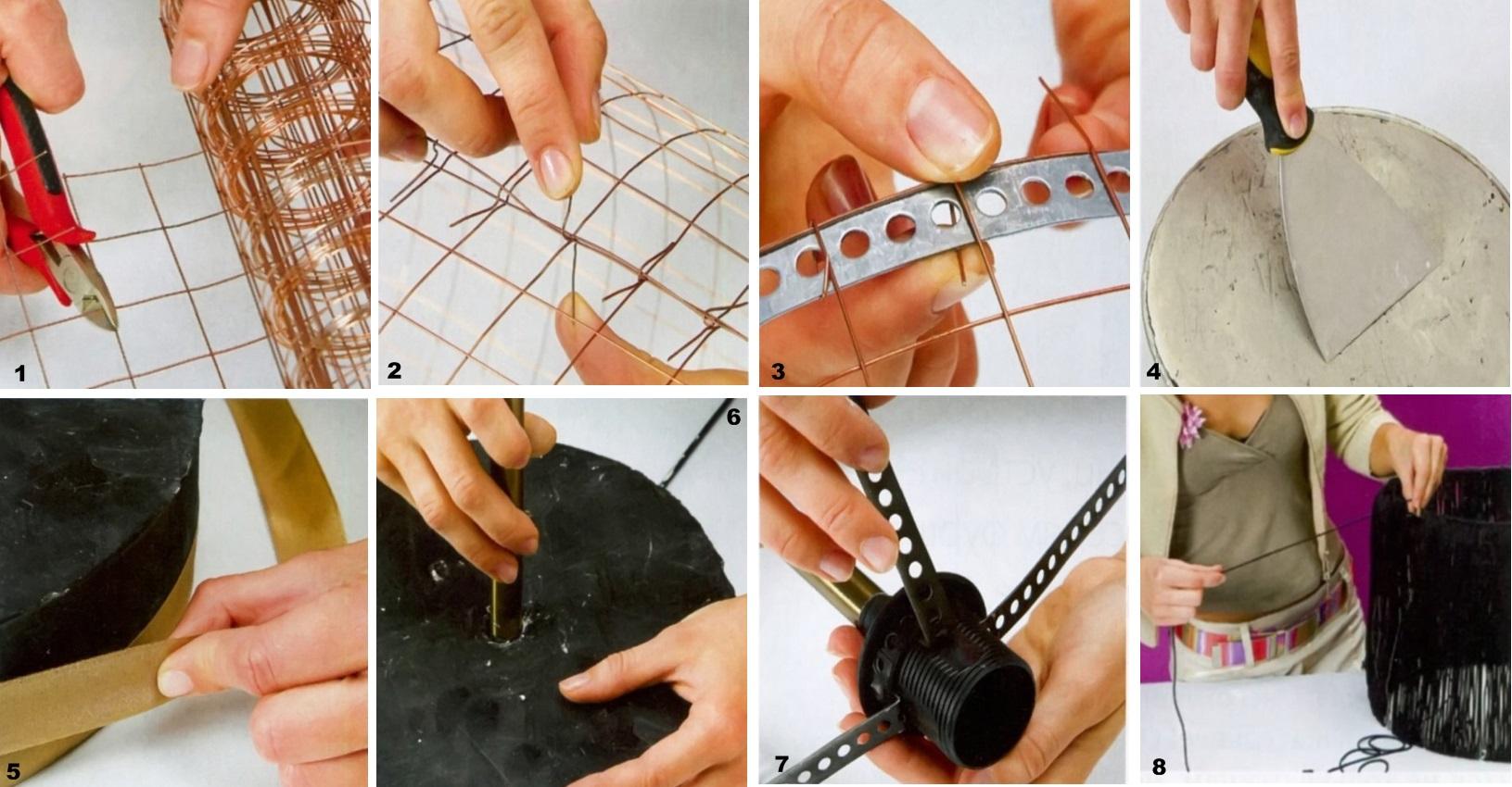 Торшер своими руками: необходимые материалы, изготовление и сборка