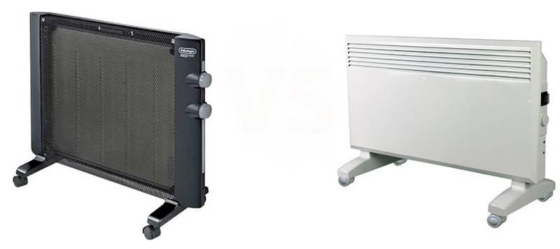 Что лучше: микатермический обогреватель или конвектор?