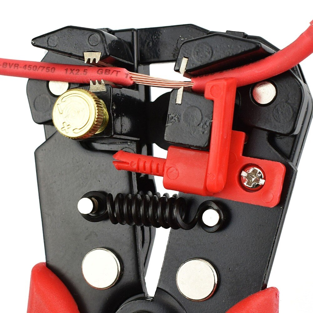 Инструмент для снятия изоляции с проводов: все про устройства для зачистки кабеля