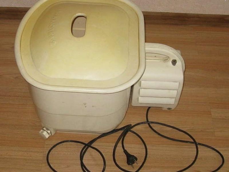 Стиральная машина малютка со стиркой белья без отжима и полоскания