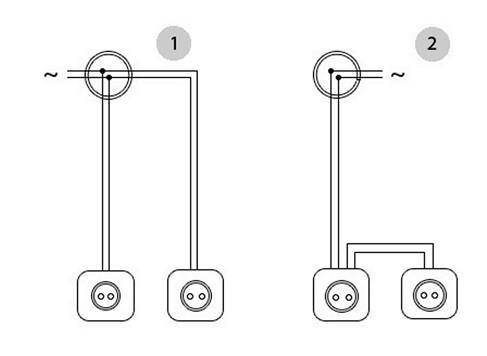 Последовательное соединение проводников: примеры для домашней электропроводки