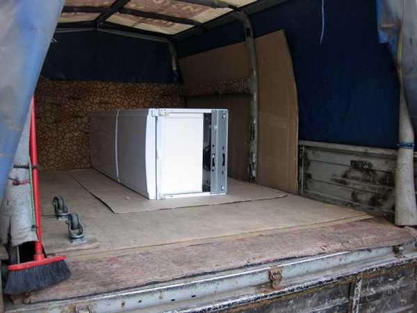 Особенности перевозки холодильника в лежачем положении