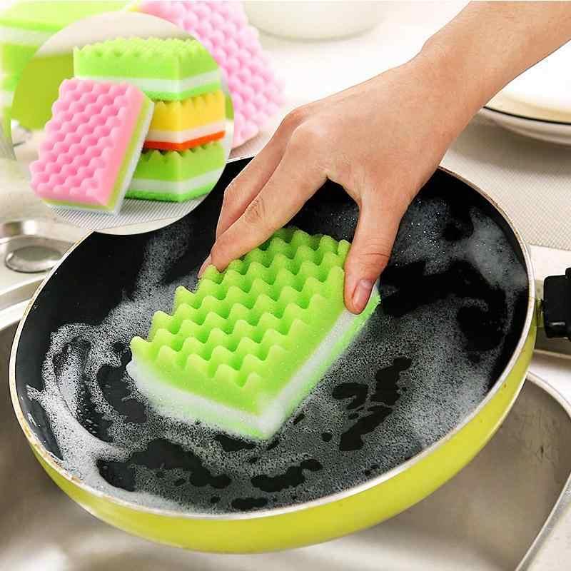 Приспособления для мытья посуды: губки, тряпки и ветошь, мочалки и хорошие щетки