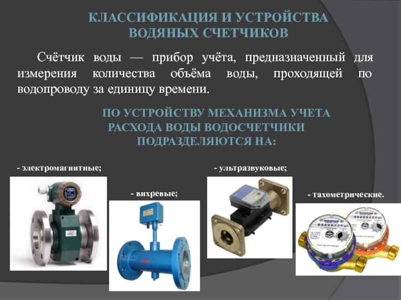 Классификация расходомеров газа – часть 1