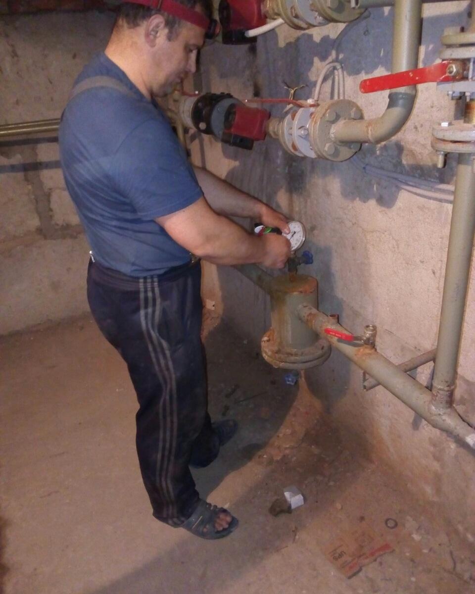 Опрессовка системы отопления своими руками