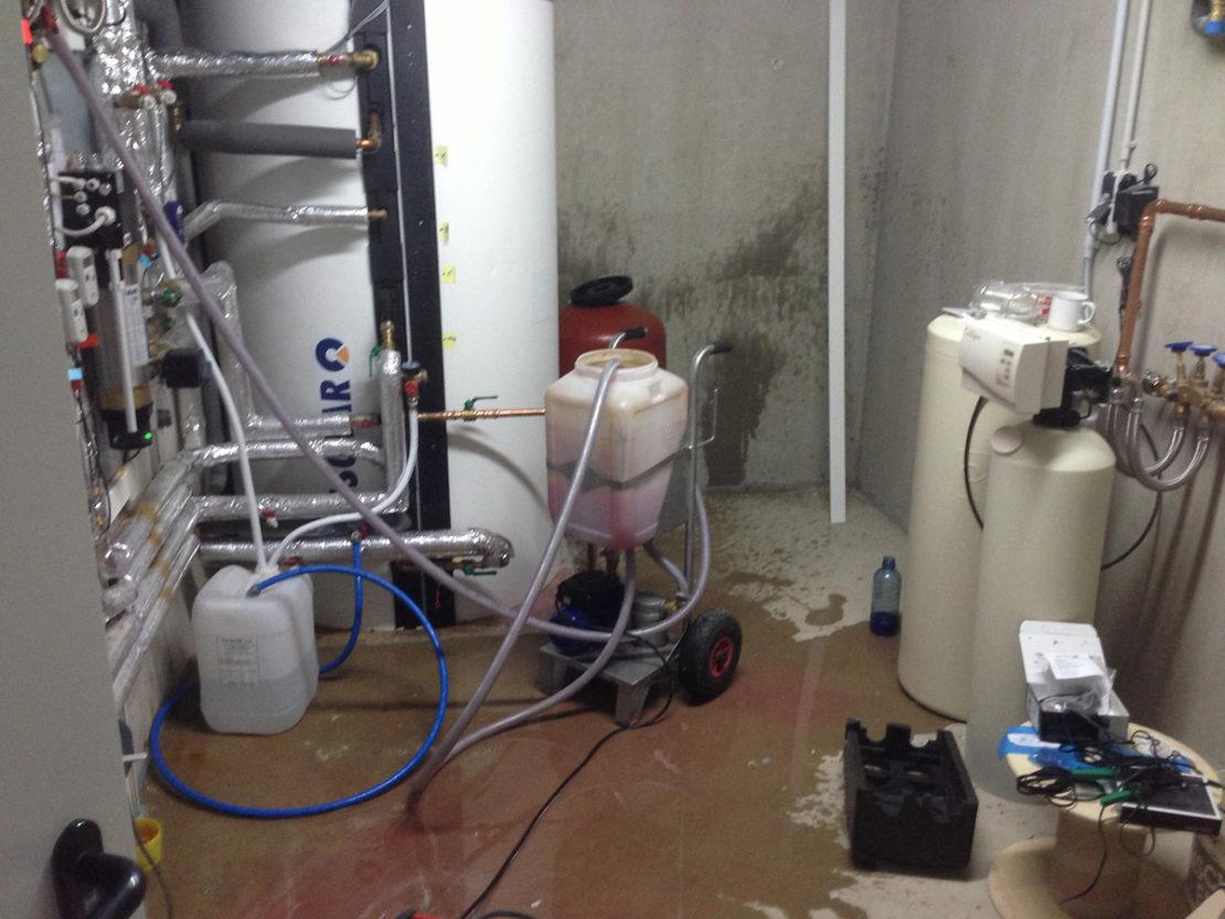 Промывка систем газового отопления: способы промывки и порядок проведения работ