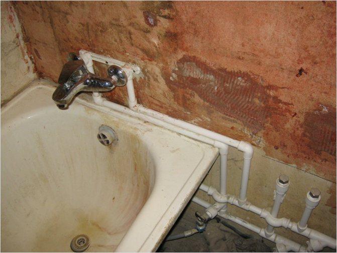 Правильная установка смесителя в ванной: как закрепить его своими руками