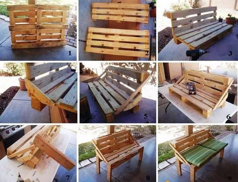 Как сделать мебель из поддонов своими руками: пошаговые инструкции со схемами и фото