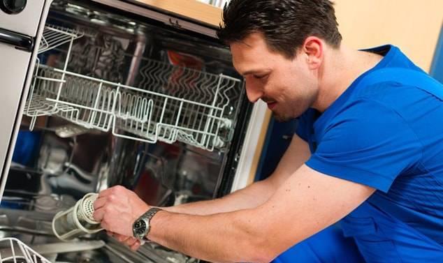 Неисправности посудомоечных машин: виды поломок