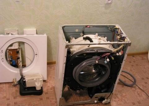 Как разобрать стиральную машину: нюансы разборки разных моделей и брендов - точка j