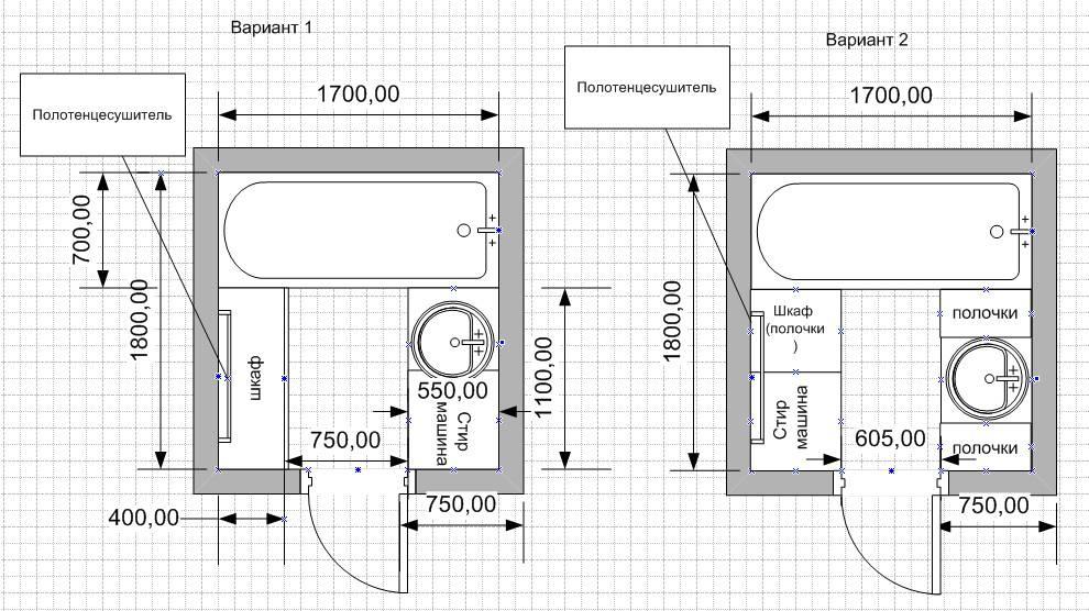 Высота ванной от пола стандарт монтажа