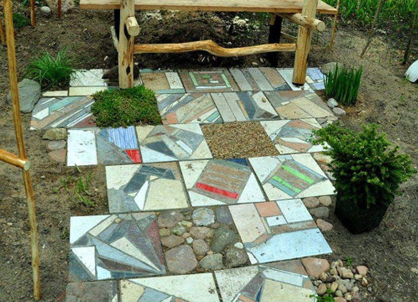Тротуарная плитка своими руками: изготовление в домашних условиях