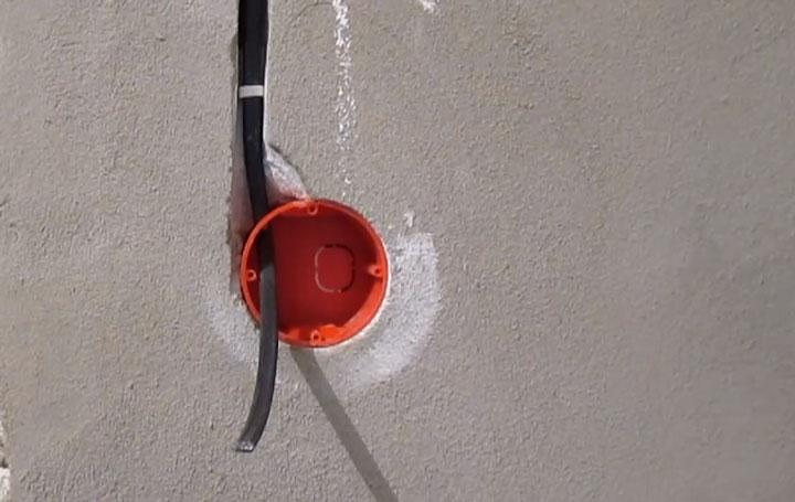 Подрозетник для гкл — выбор, размеры, цена, установка подрозетника на гипсокартон
