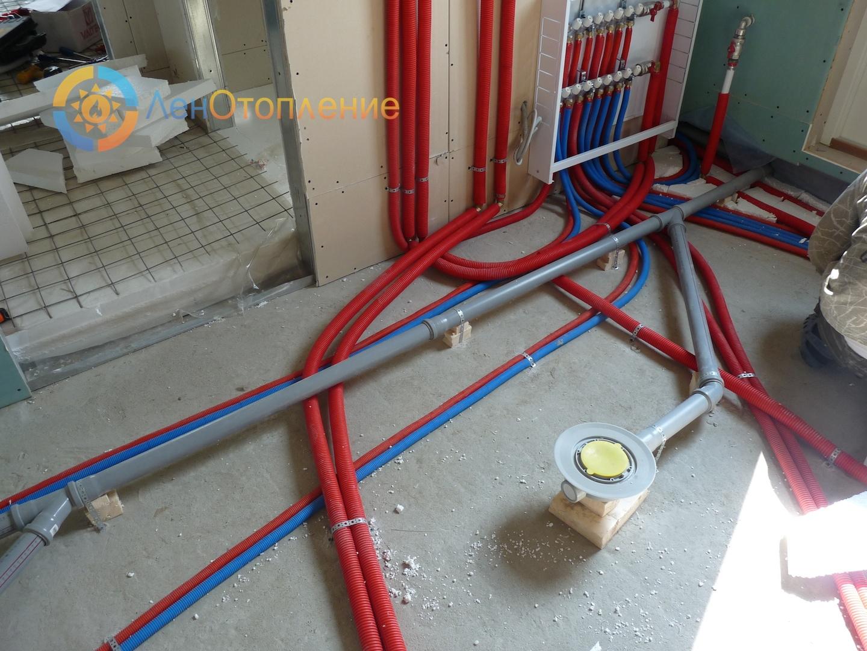 Разводка труб в ванной: разбор скрытой и открытой схем прокладки трубопровода