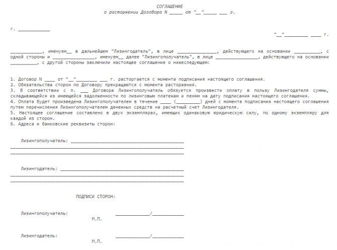 Расторжение договора в одностороннем порядке: аренды, услуг, хранения