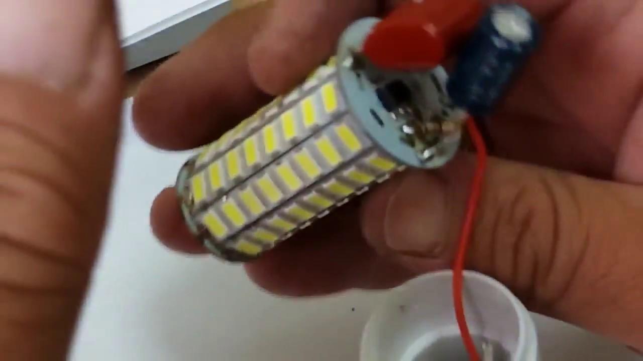 Ремонт светодиодных ламп мигает - морской флот
